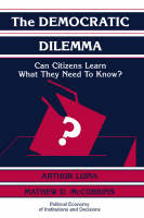 Jacket image for The Democratic Dilemma
