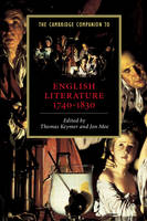 Jacket image for The Cambridge Companion to English Literature, 1740-1830