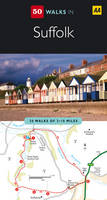Jacket image for 50 Walks in Suffolk