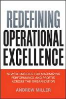 Jacket image for Redefining Operational Excellence