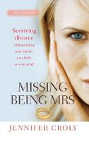 Jacket image for Missing Being Mrs