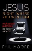 Jacket image for Jesus, Right Where You Want Him