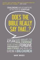 Jacket image for Does The Bible Really Say That?