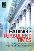 Jacket image for Leading in Turbulent Times