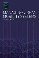 Jacket image for Managing Urban Mobility Systems