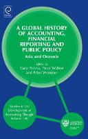 Jacket image for A Global History of Accounting, Financial Reporting and Public Policy Volume 14C