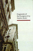 Jacket Image For Fragments of the European City