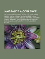 Jacket image for Naissance Coblence