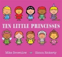 Jacket image for Ten Little Princesses
