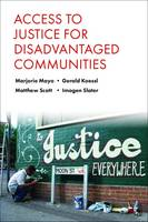 Jacket Image for     Access to justice for disadvantaged communities
