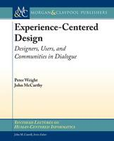 Jacket image for Experience-centered Design