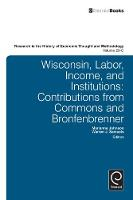 Jacket image for Wisconsin, Labor, Income, and Institutions