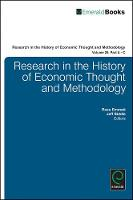 Jacket image for Research in the History of Economic Thought and Methodology Volume 29A-C