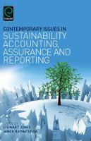Jacket image for Contemporary Issues in Sustainability Accounting, Assurance and Reporting