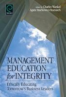 Jacket image for Management Education for Integrity