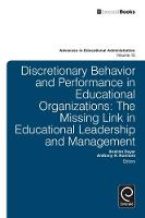 Jacket image for Discretionary Behavior and Performance in Education
