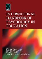 Jacket image for International Handbook of Psychology in Education