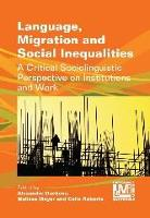 jacket Image for Language, Migration and Social Inequalities