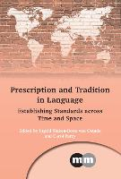 jacket Image for Prescription and Tradition in Language
