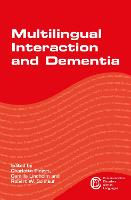 jacket Image for Multilingual Interaction and Dementia