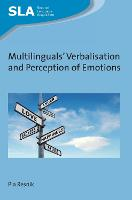 jacket Image for Multilinguals' Verbalisation and Perception of Emotions