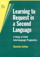 jacket Image for Learning to Request in a Second Language