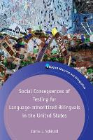 jacket Image for Social Consequences of Testing for Language-minoritized Bilinguals in the United States