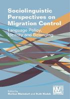jacket Image for Sociolinguistic Perspectives on Migration Control