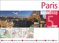 Jacket image for Paris Pop Out Map