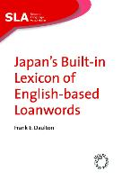 jacket Image for Japan's Built-in Lexicon of English-based Loanwords