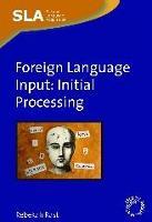 jacket Image for Foreign Language Input