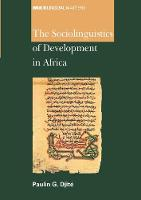 jacket Image for The Sociolinguistics of Development in Africa