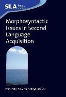 jacket Image for Morphosyntactic Issues in Second Language Acquisition