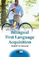 jacket Image for Bilingual First Language Acquisition