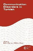 jacket Image for Communication Disorders in Turkish
