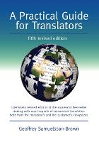 jacket Image for A Practical Guide for Translators