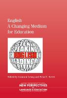 jacket Image for English - A Changing Medium for Education