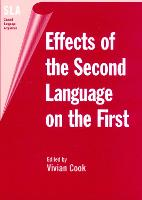 jacket Image for Effects of the Second Language on the First