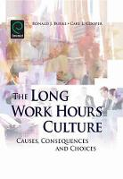 Jacket image for The Long Work Hours Culture