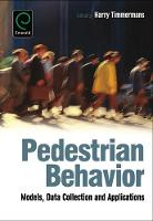 Jacket image for Pedestrian Behavior