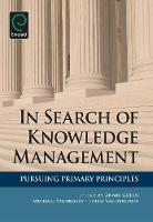 Jacket image for In Search of Knowledge Management