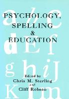 jacket Image for Psychology, Spelling and Education