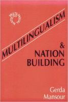 jacket Image for Multilingualism and Nation Building