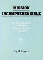 jacket Image for Mission Incomprehensible