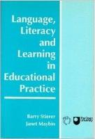 jacket Image for Language, Literacy and Learning in Educational Practice