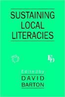 jacket Image for Sustaining Local Literacies