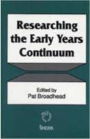 jacket Image for Researching the Early Years Continuum