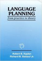jacket Image for Language Planning