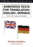 jacket Image for Annotated Texts for Translation