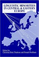 jacket Image for Linguistic Minorities in Central and Eastern Europe